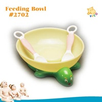 Tortoise design super strong suction bowl